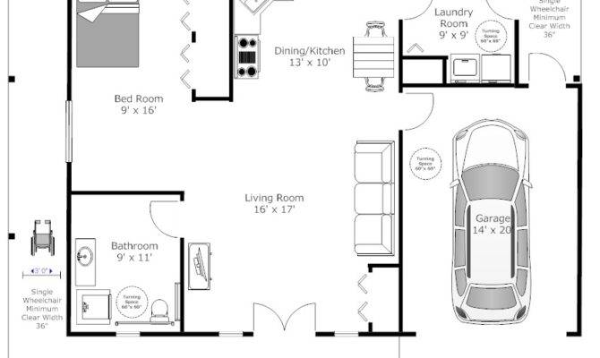 Accessible Home Floor Plans Design Style