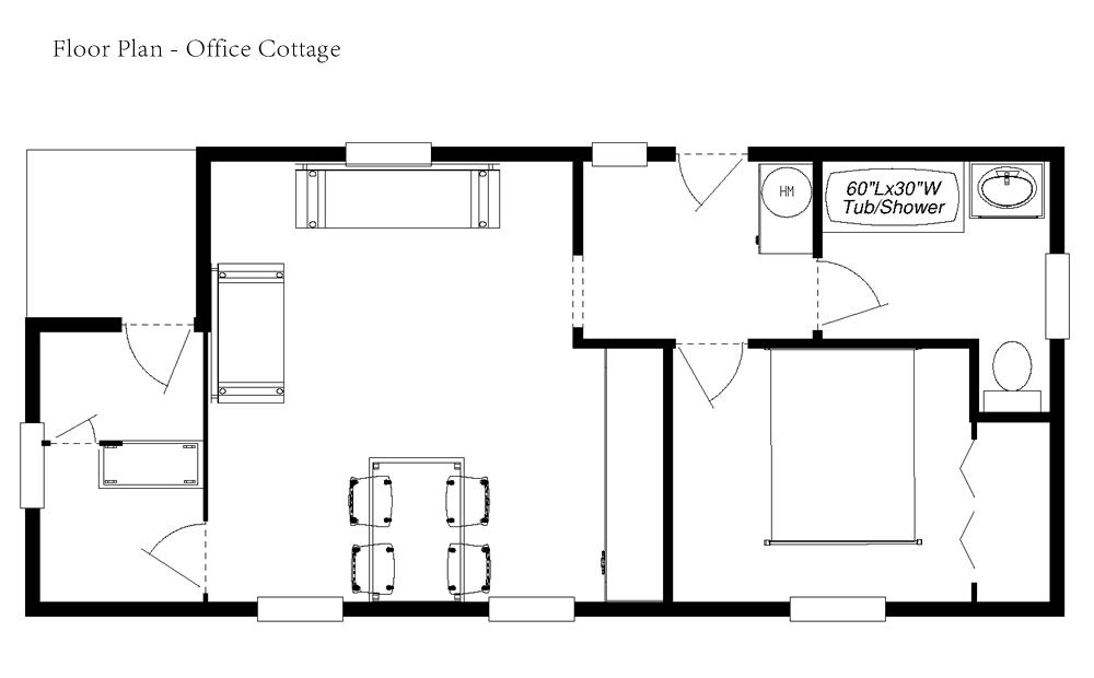 Acv Enterprises Mobile Cottages Floor Plans
