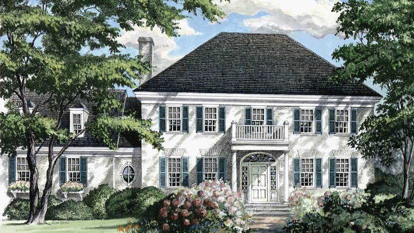 Adam Federal Home Plans Style Designs