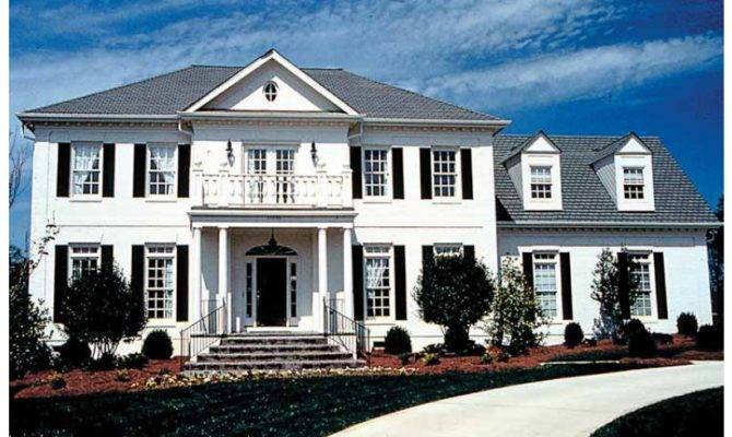 Adam Federal House Plan Square Feet Bedrooms