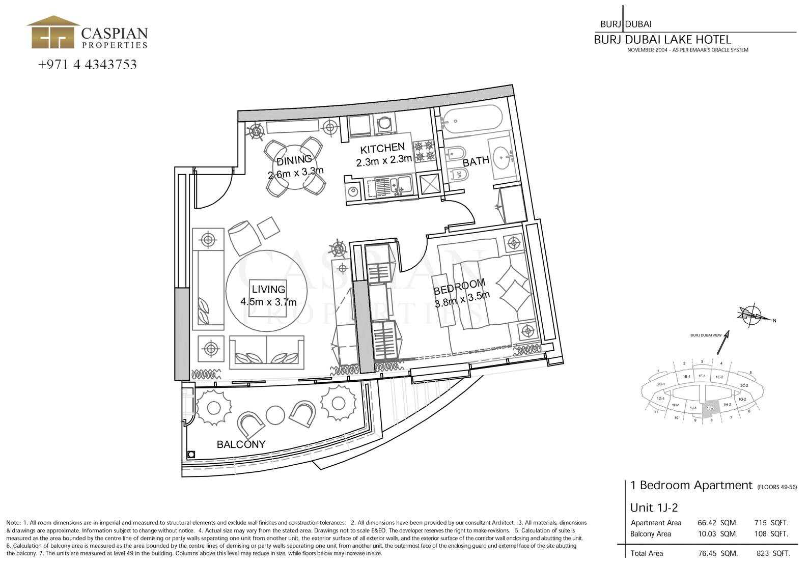 Address Residence Lake Hotel Floor Plans