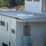 Ade Made Three Parapet Walls Roof Line