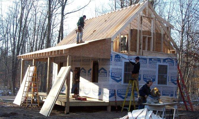 Adirondack Cabin Loft Construction Package