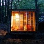 Adorably Tiny Study Cabin Built Using