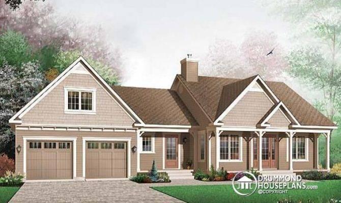Affordable Craftsman Home Unfinished Basement Car Garage