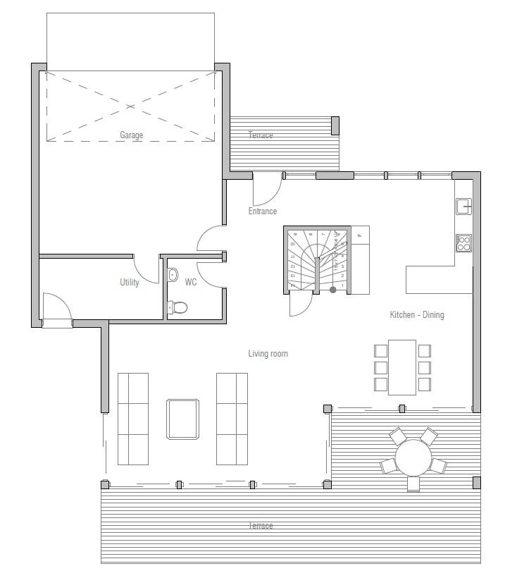 Affordable Home Plans Economical House Plan