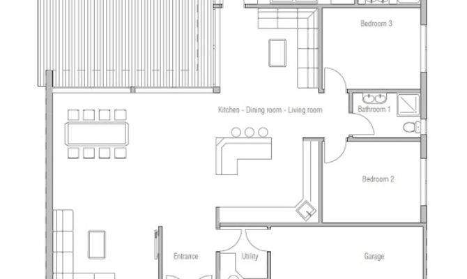 Affordable Home Plans Modern Economical House Plan