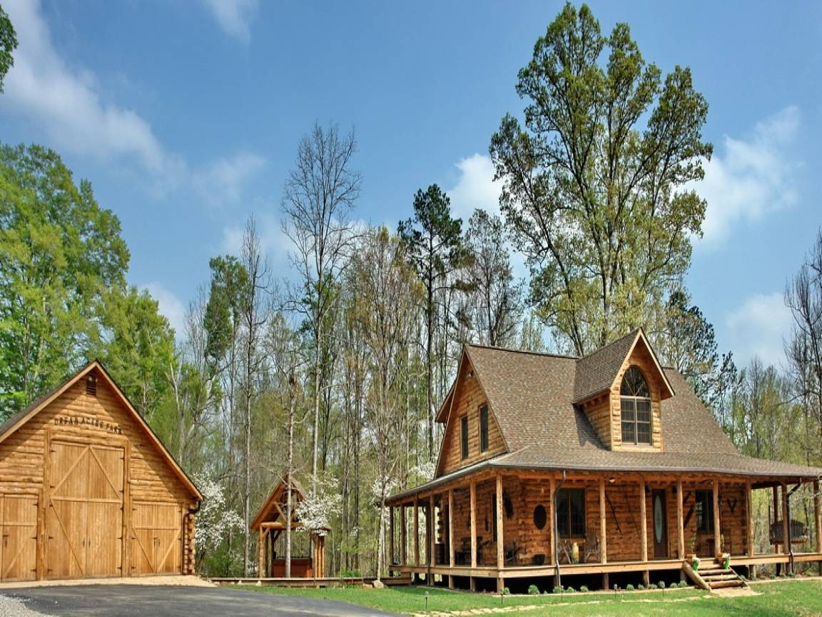 Affordable Rustic Log Homes Home Country House