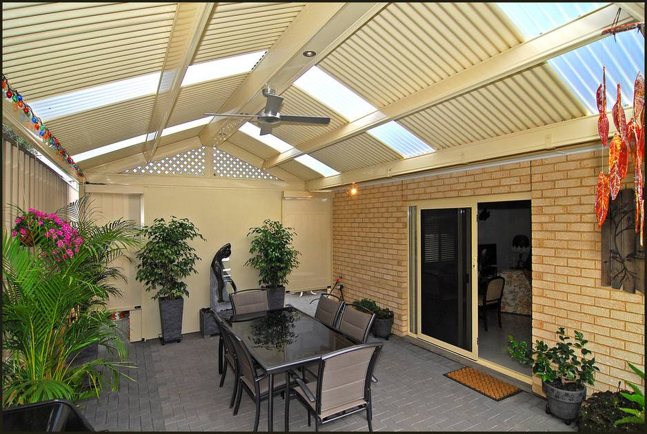 Ago Patio Verandah Designs Months Outdoor Led Lights Fans