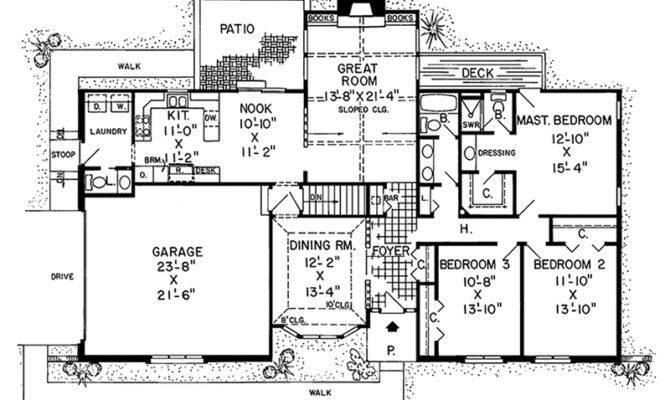 Alberta Way Contemporary Home Plan House Plans More