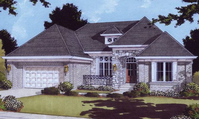 Alessandria European Style Home Plan House Plans More