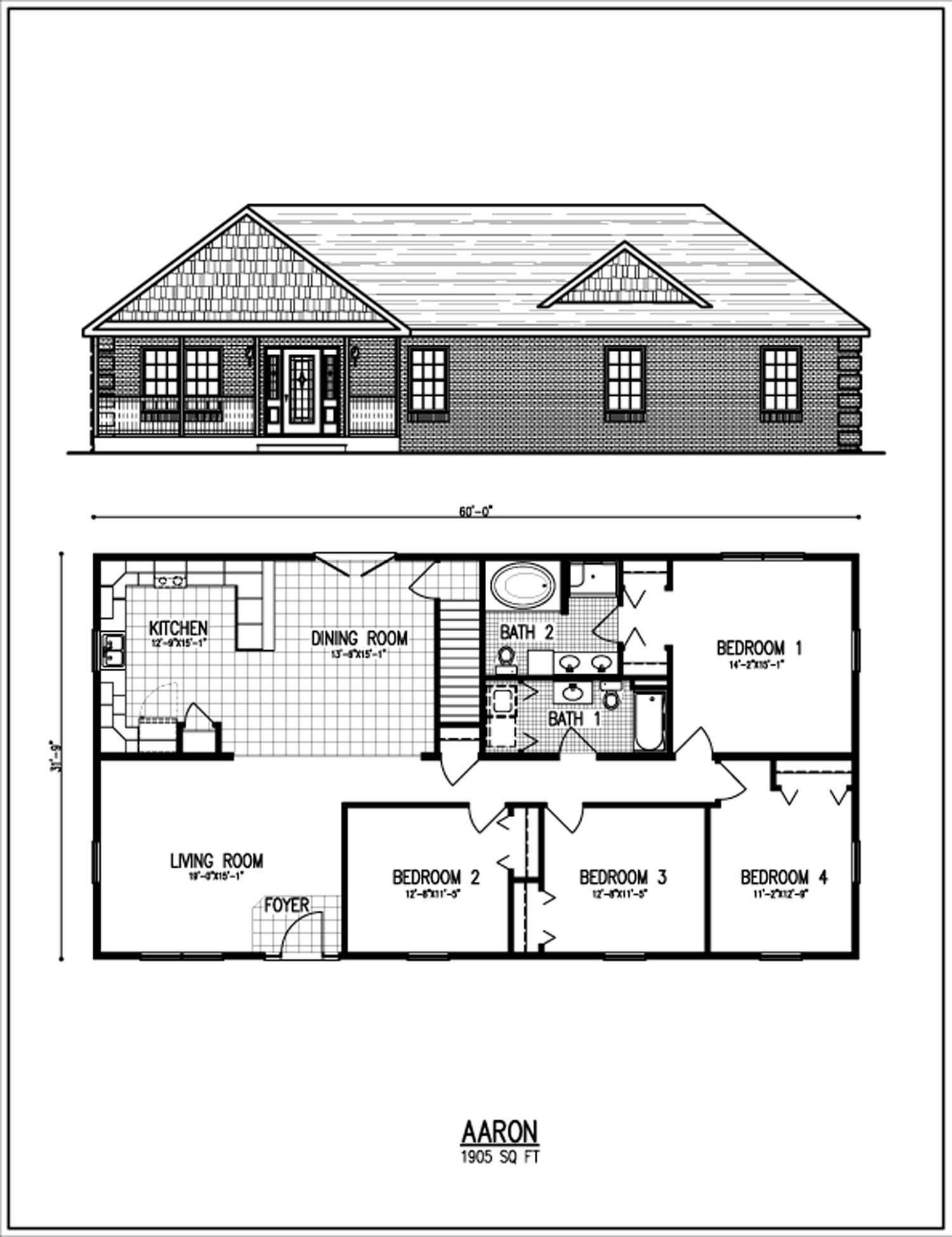 All American Homes Floorplan Center Staffordcape
