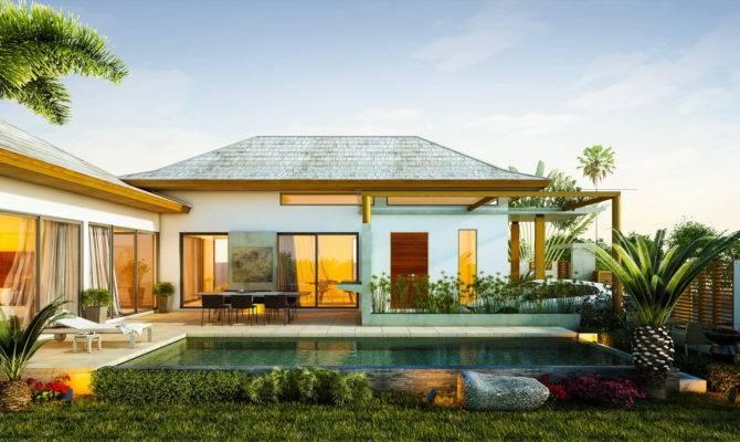 Alluring Tropical Home Modern Design Ifresh