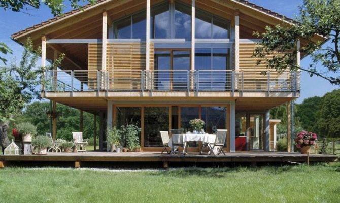Alpenchic Modern Chalet Style Home Baufritz