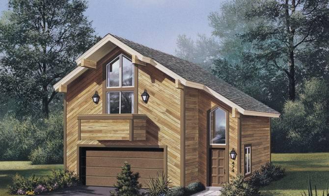 Alpine Apartment Garage Plan House Plans More
