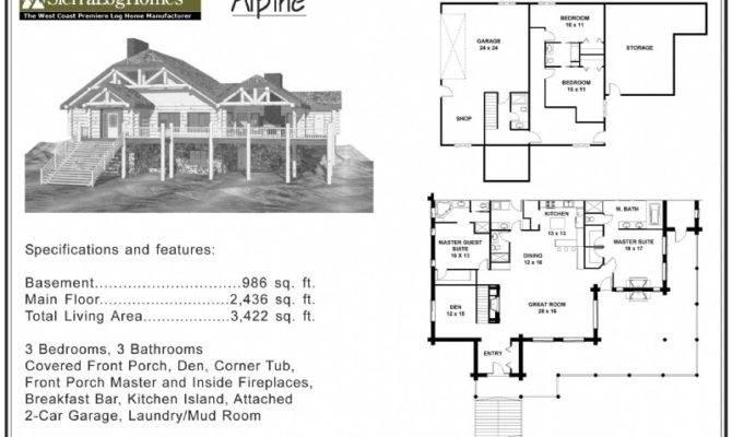 Alpine Blue Log Homes