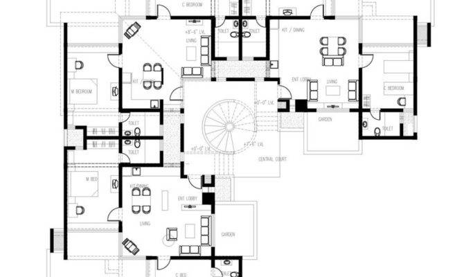 Amazing Home Plans Guest House Modern