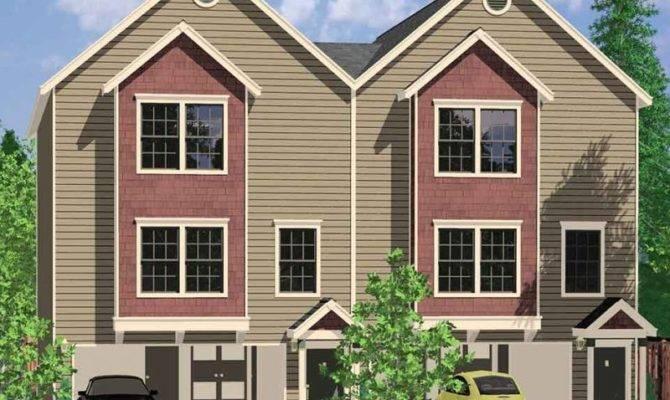 Amazing Multi Home Plans Duplex Danutabois