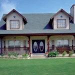 Amazing One Story Wrap Around Porch House Plans Danutabois