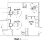 Amazing Salon Floor Plan Designs
