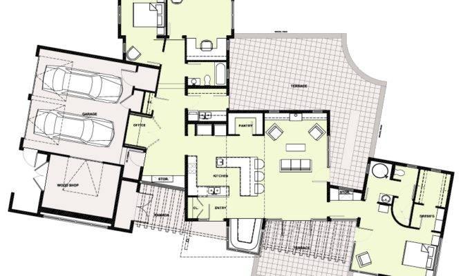 Amazing Slab Home Plans Grade House Floor