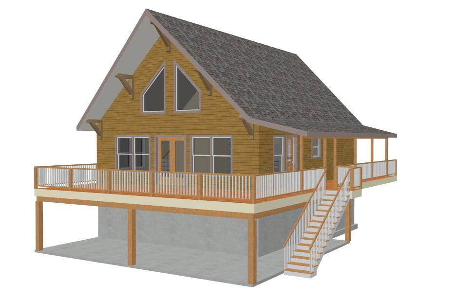 Amazing Small Mountain Home Plans Cabin