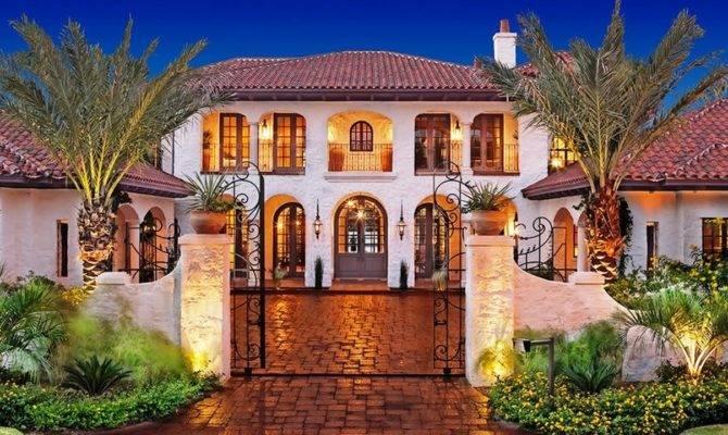 America Most Beautiful Houses Mediterranean Victorian