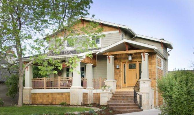 American Architecture Elements Craftsman Style