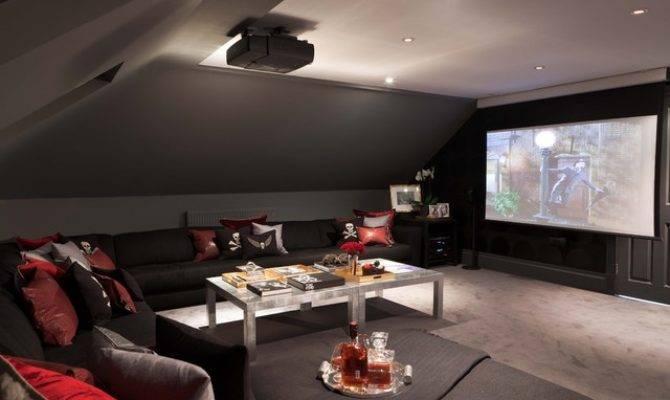 American Dream Modern Home Theater London