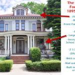 American Foursquare Home Photos Plus Architectural Details
