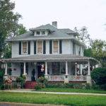 American Foursquare Home Photos Plus Architectural Details