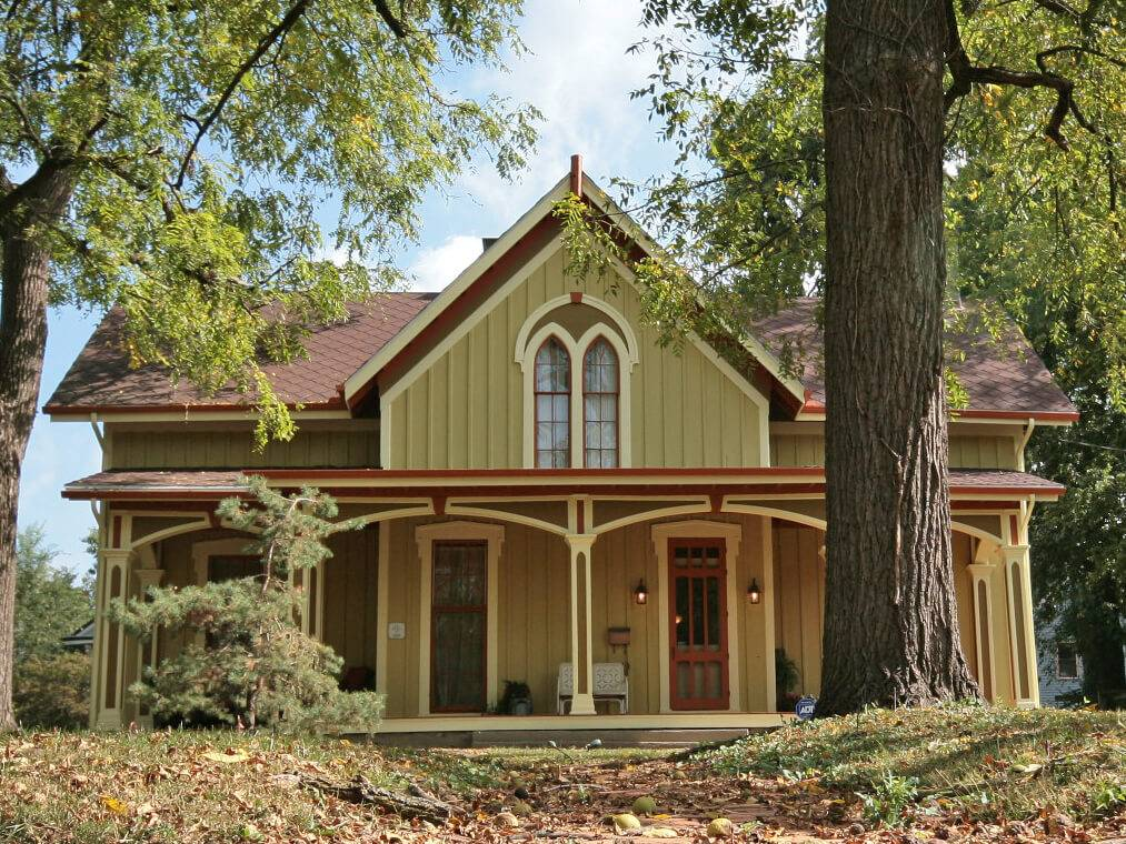 American Style Carpenter Gothic Revival