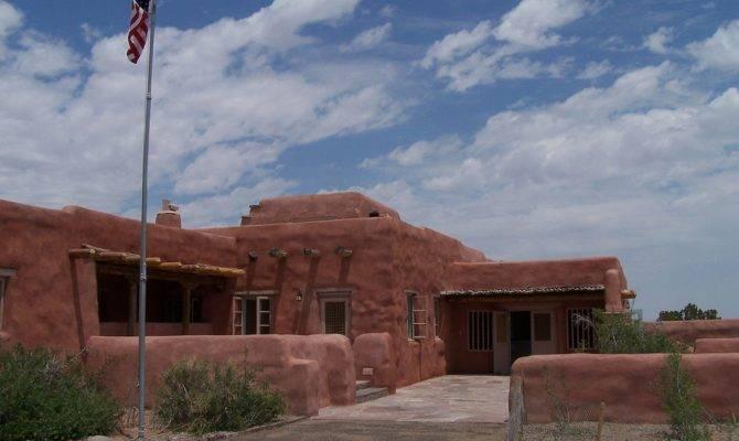 American Style Santa Pueblo Revival