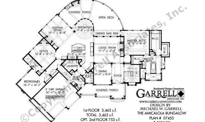 Amicalola Bungalow House Plan Active Adult Plans