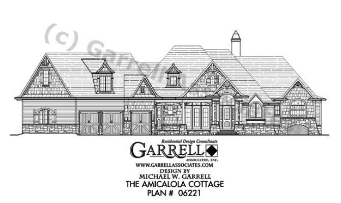 Amicalola Cottage House Plan Active Adult Plans