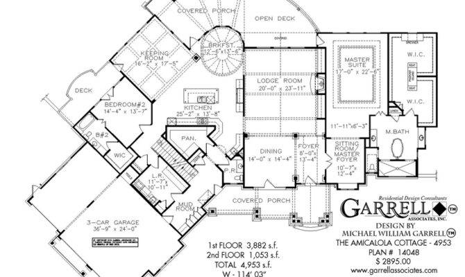 Amicalola Cottage House Plan Country Farmhouse Southern