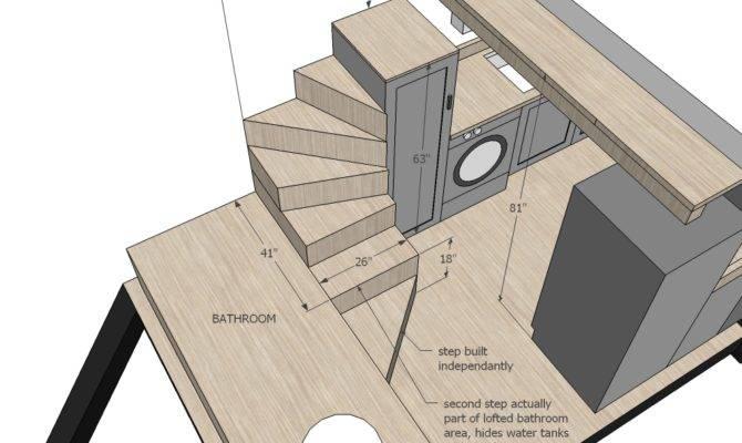 Ana White Tiny House Stairs Spiral Storage Style Diy
