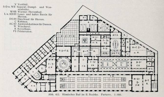 Ancient Roman Baths Floor Plan Floorplan