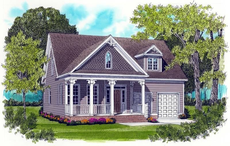 Anne Victorian Welcome Queen Style House Plan