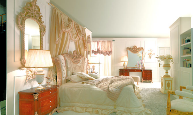 Antique French Furniture Style Bedroom Marie Antoinette