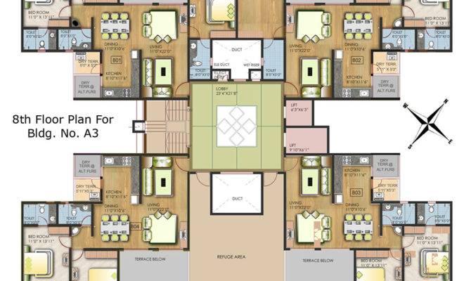 Apartment Building Floor Plans