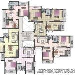 Apartment Floor Plans Shri Krishna Residency Kankavali