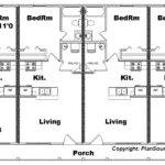 Apartment Plan Plex Plansource Inc
