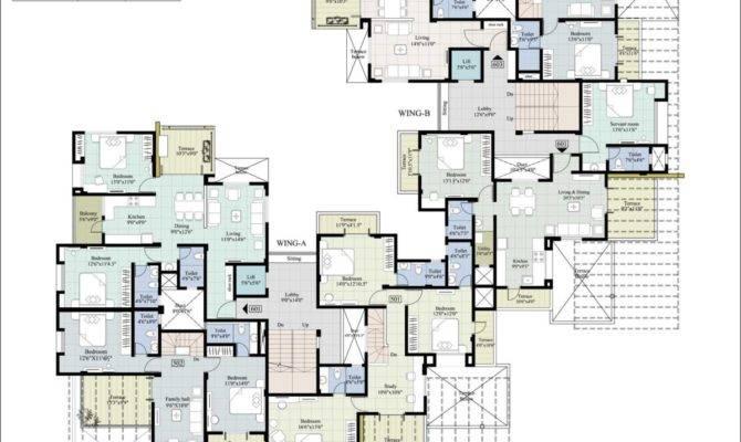 Apartments Architecture Excellent Luxury Apartment