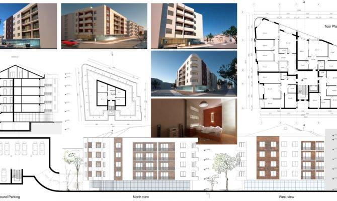 Apartments Building Plans Designed Oarchitecture