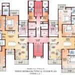 Apartments Floor Plans Bedrooms Design