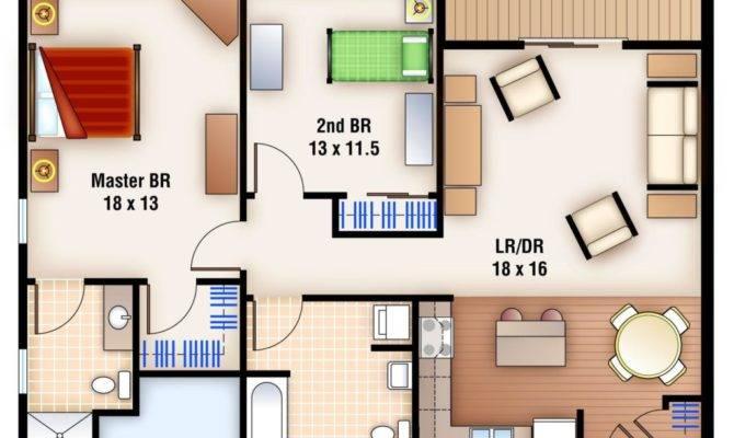 Apartments Unusual Bedroom Bath Floor