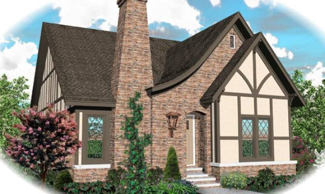 Apollo Hill Tudor Cottage Home Plan House