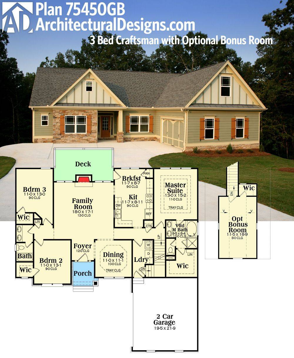 Architectural Designs House Plan Gives One