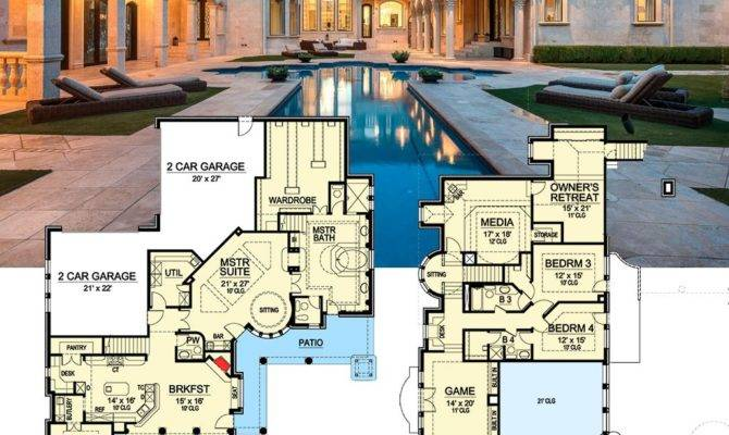 Architectural Designs Luxury House Plan Gives